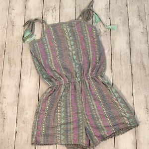 NWT Justice romper, size 12
